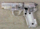 Airsoftgun 228 transparent 6 mm Feder-Softairpistole