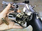 Combat 6 mm Gas-Softairrevolver silber